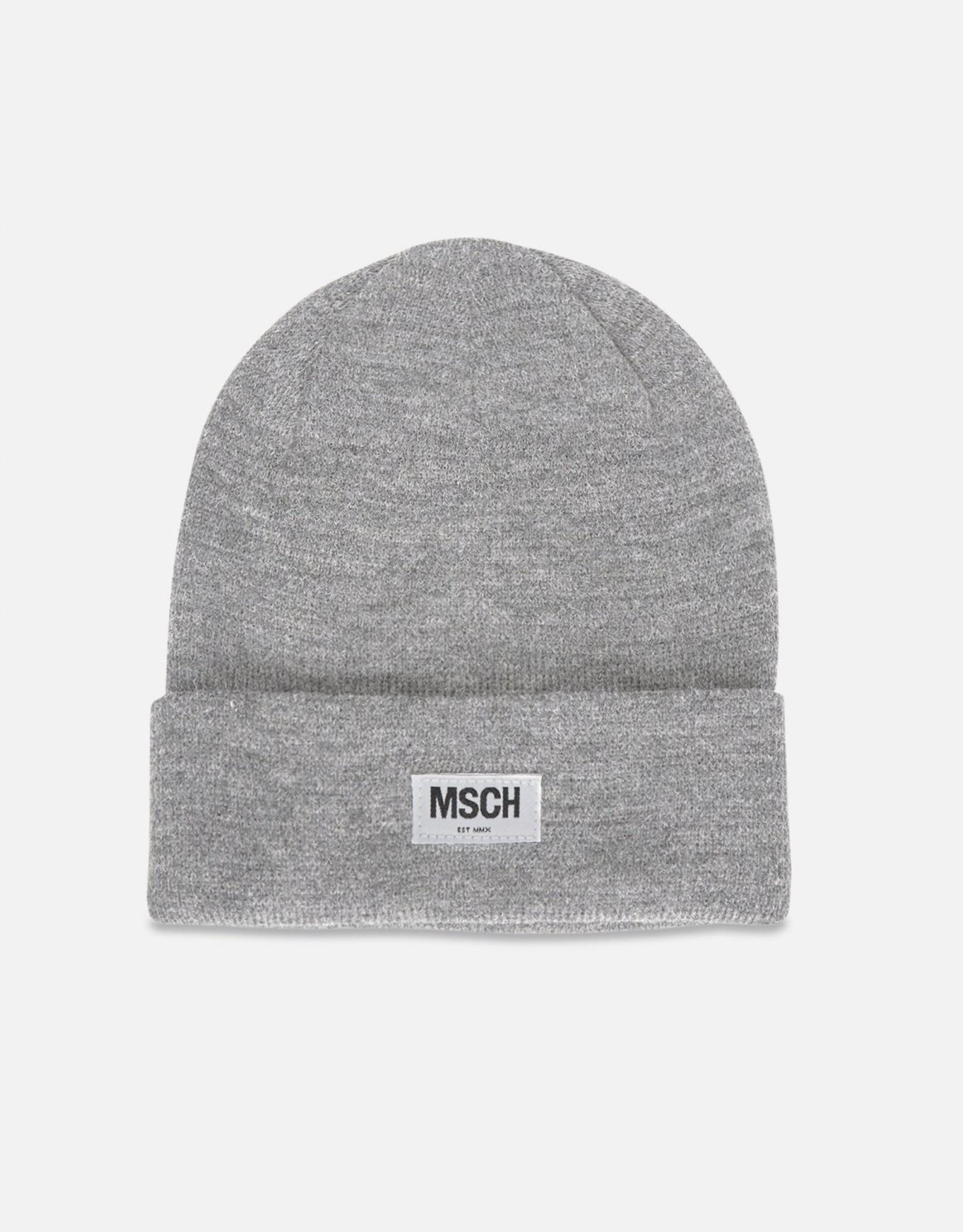 Moss Copenhagen MSCH - Mojo beanie, light grey