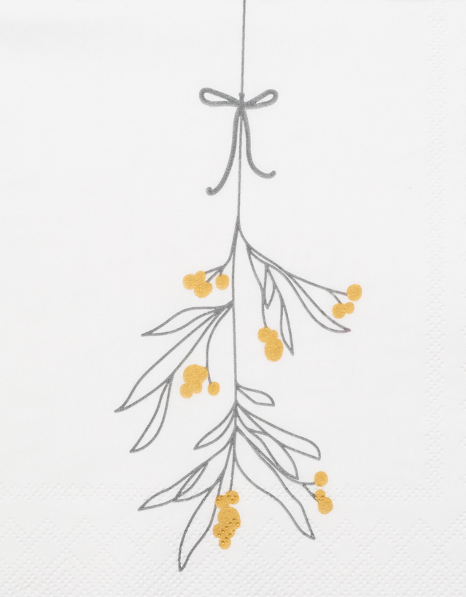 Räder Rader - Napkin mistletoe - 25x 25 cm