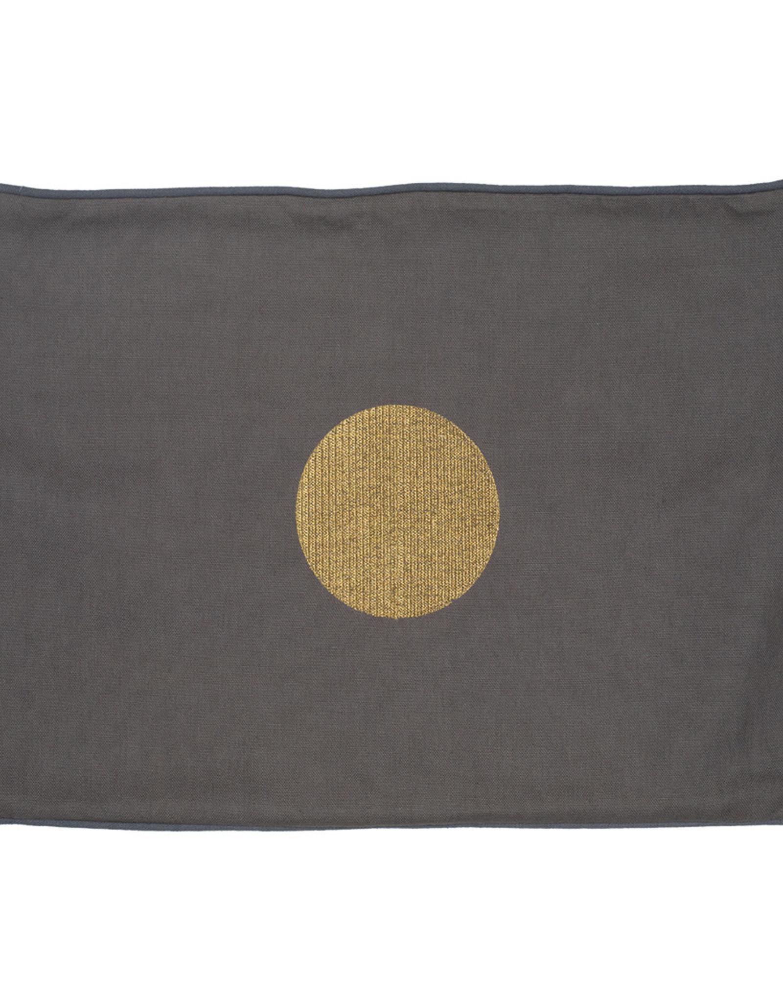 Räder Rader - At home  pillow golden dot