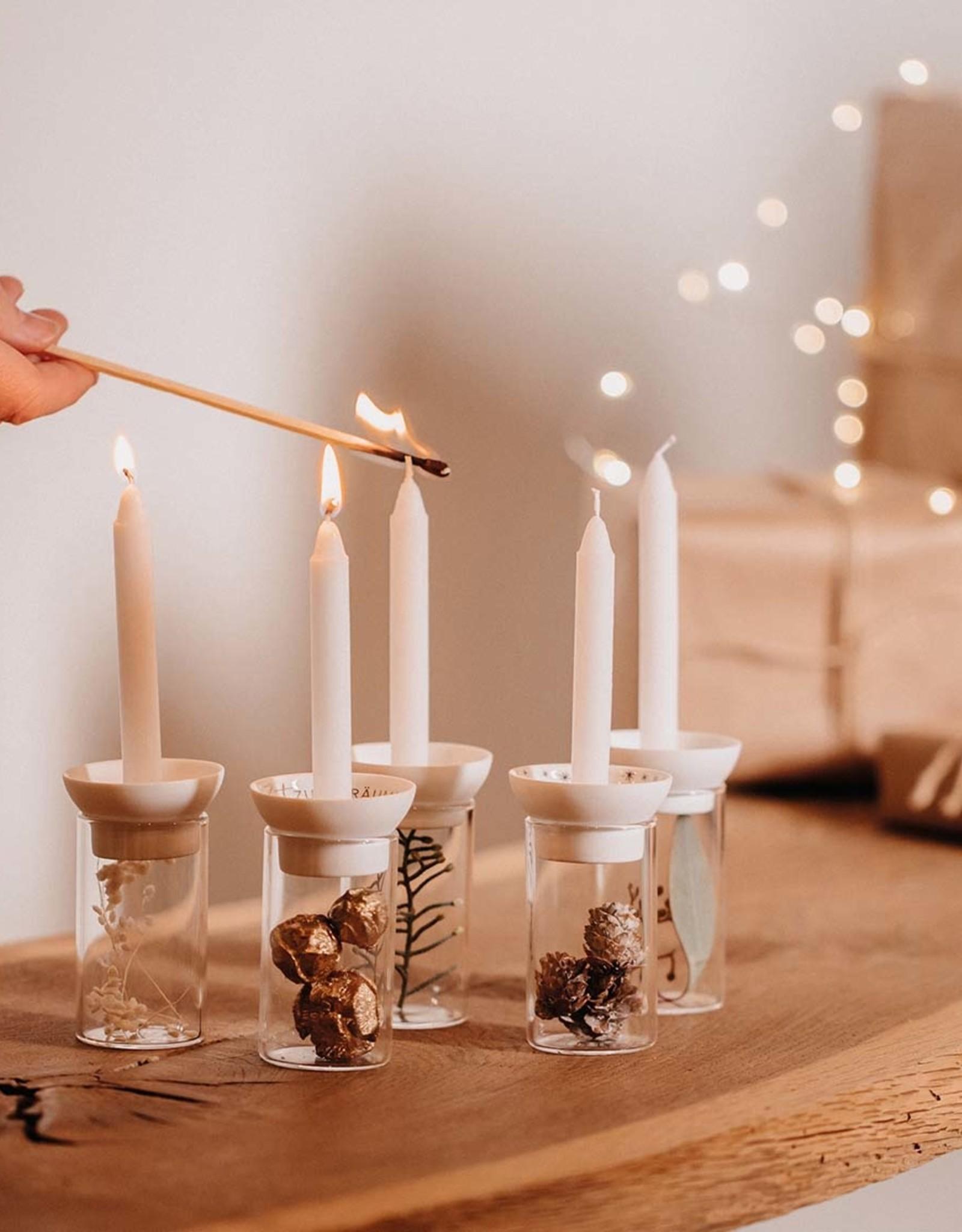 Räder Rader - Candle glass deco