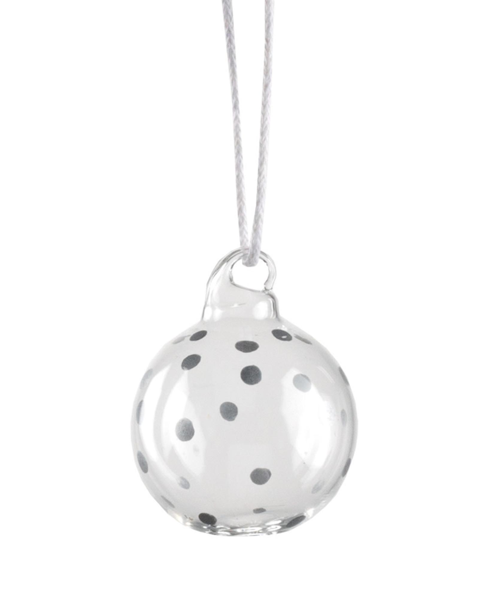 Räder Rader - Mini glazen bol set of 4pcs silver