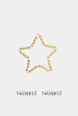 Räder Rader - Christmas postcard Twinkle twinkle