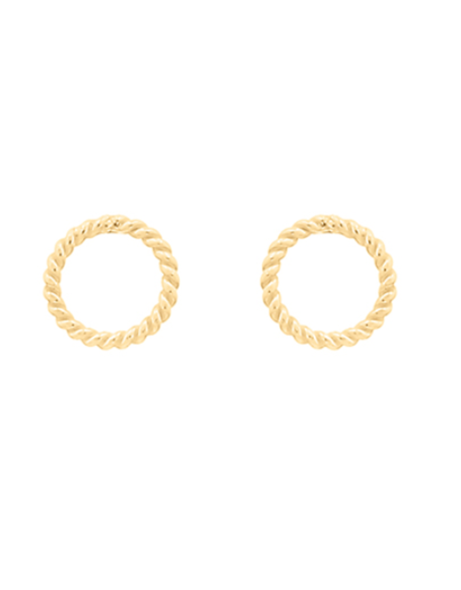 Miab Miab - Oorbellen goud - mini circle