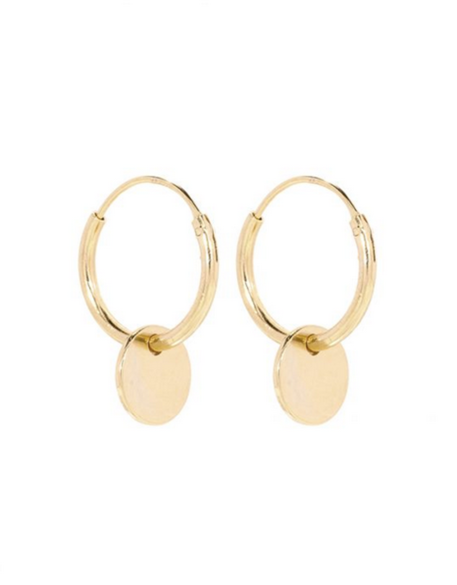 Miab Miab - Oorbellen goud - front charm