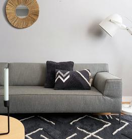 Malagoon Malagoon - Turfed solid cushion - cozy grey