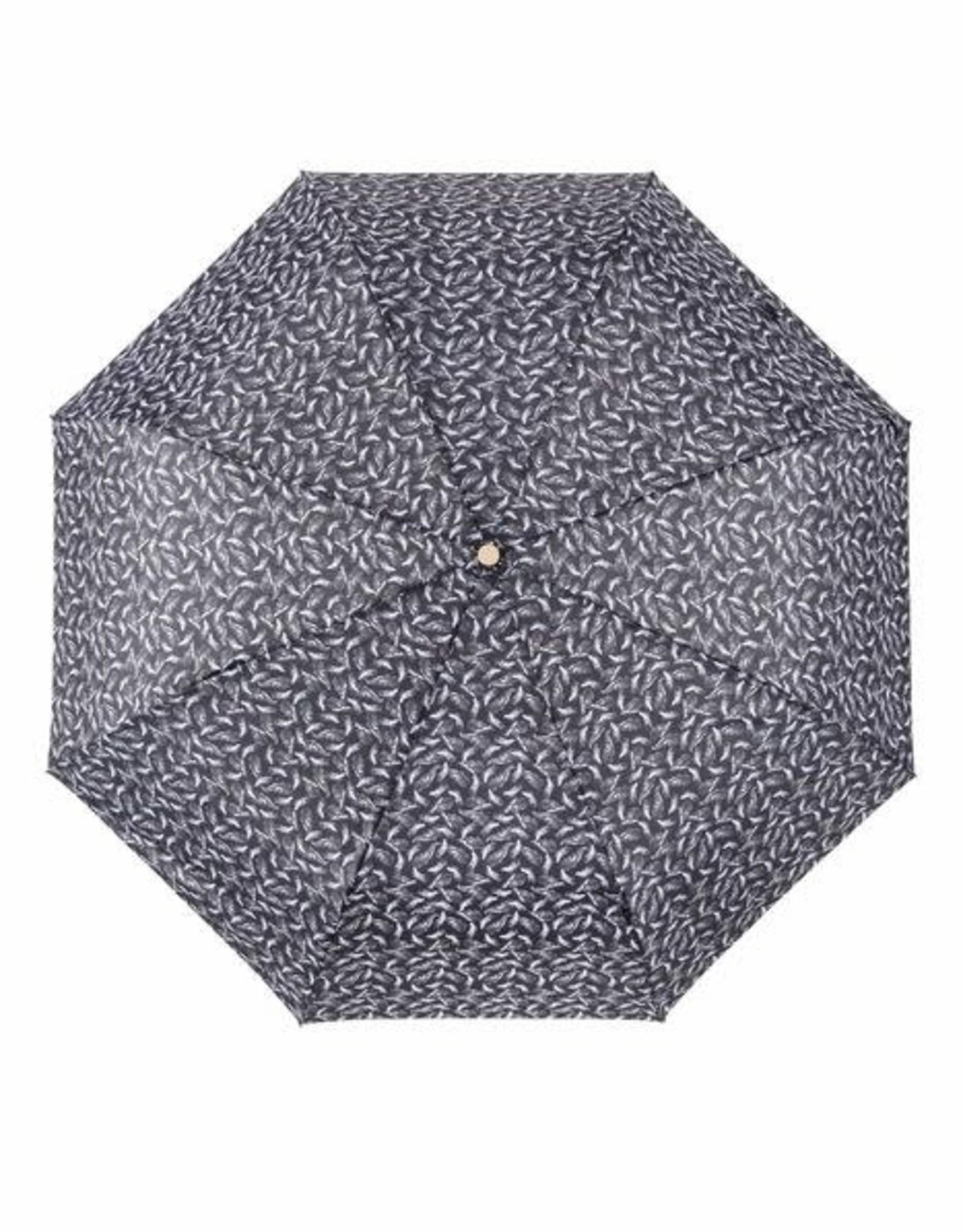 Zusss Zusss - Paraplu invouwbaar AOP blaadjes