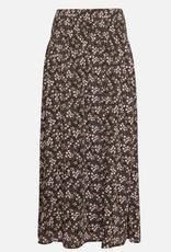 Moss Copenhagen Msch - Iluna Rikkelie Skirt - Black Flowers
