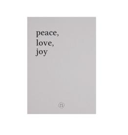 Zusss Zusss - Kaart - peace love joy - zand