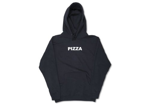 Pizza Pizza Logo Hoodie Navy