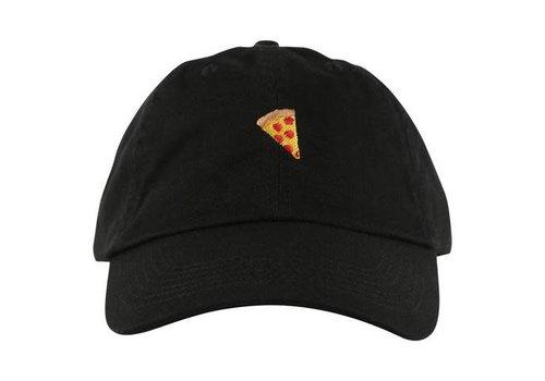 Pizza Pizza Emoji Polo Cap Black