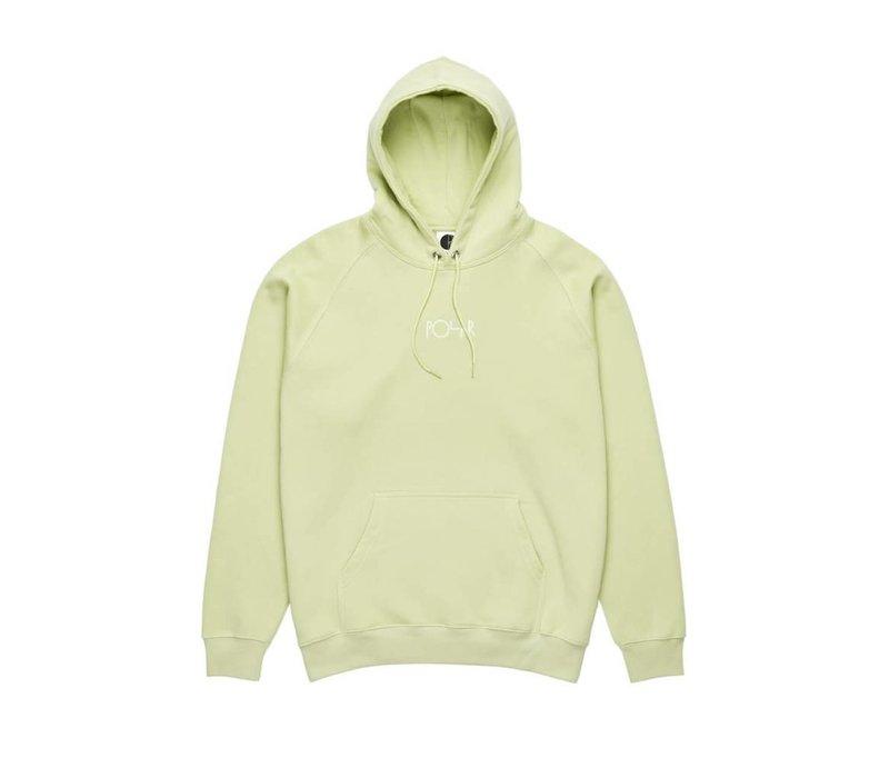 Polar Default Hoodie Lime