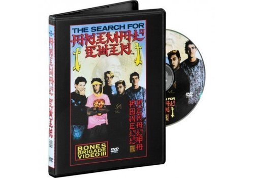 Powell Peralta Bones Brigade - The Search For Animal Chin DVD