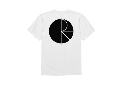 Polar Polar Fill Logo Tee White/Black