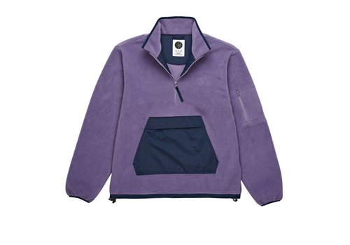 Polar Polar Gonzalez Fleece Jacket Navy / Lilac