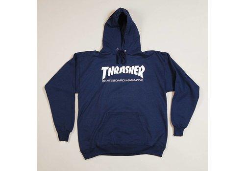 Thrasher Thrasher Skate Mag Hood Navy