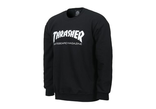 Thrasher Thrasher Skate Mag Crewneck Black