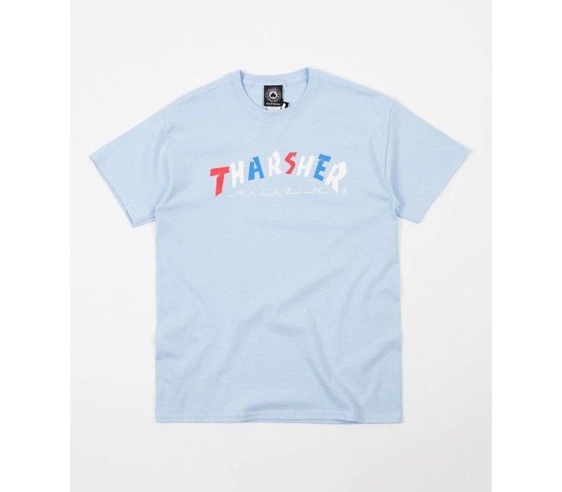Thrasher THARSHER Tee Light Blue