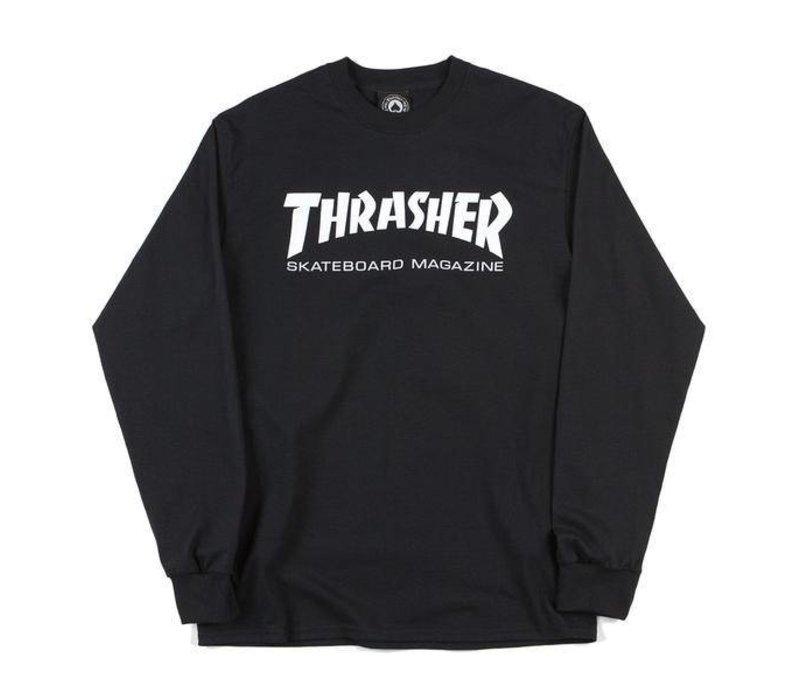 Thrasher Skate Mag Ls Black