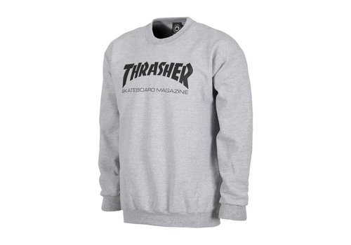 Thrasher Thrasher Skate Mag Crewneck Grey
