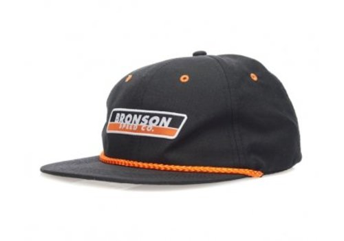 Bronson Speed Co. Bronson Speed Co. Snapback Hat Black