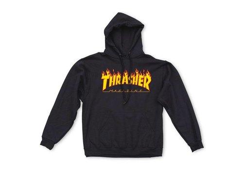 Thrasher Thrasher Flame Hood Black