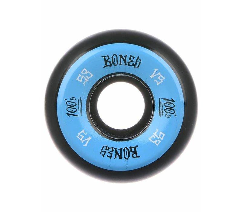Bones Wheels - V5 100's Black OG Formula 53mm
