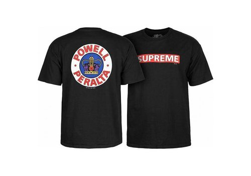 Powell Peralta Powell Peralta Supreme T-Shirt Black