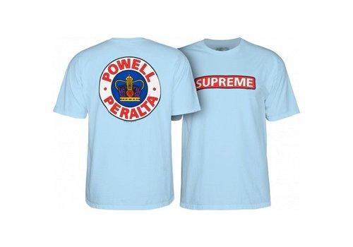 Powell Peralta Powell Peralta Supreme T-Shirt Light Blue