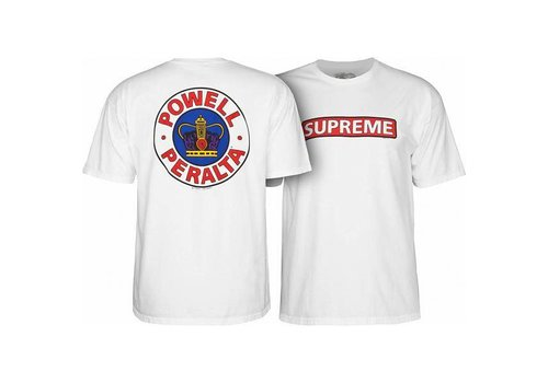 Powell Peralta Powell Peralta Supreme T-Shirt White