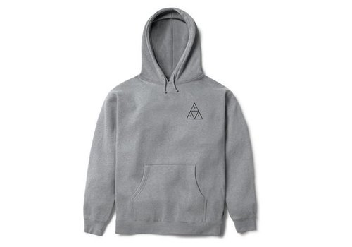 HUF Huf Triple Triangle Pull Over Hood Fleece Grey