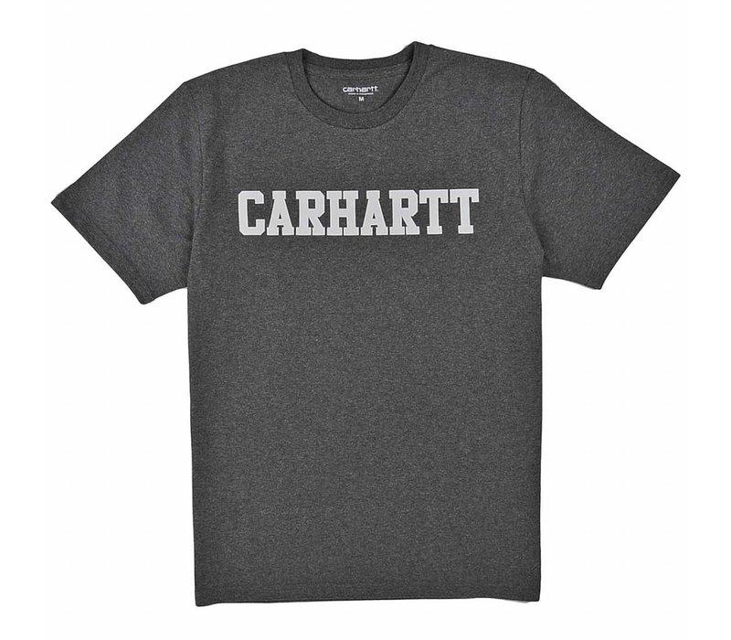 Carhartt College T-Shirt Dark Grey Heather