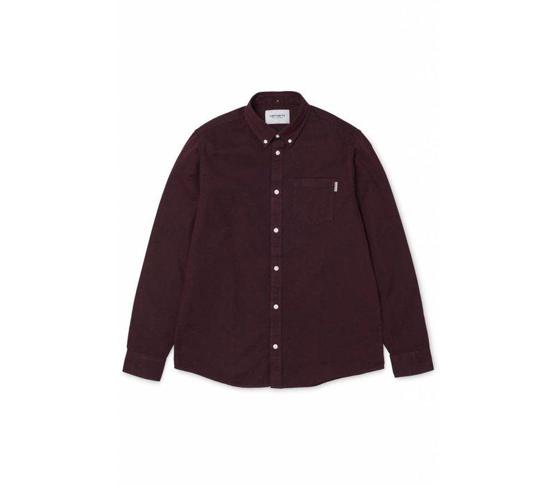 Carhartt LS Dalton Shirt Amarone