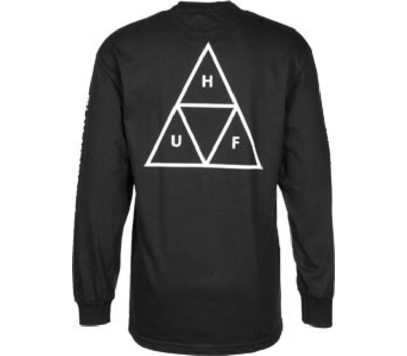 Huf Triple Triangle Longsleeve Black