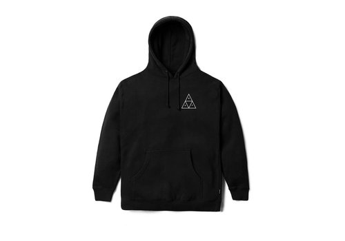 HUF Huf Triple Triangle Pull Over Hood Fleece Black
