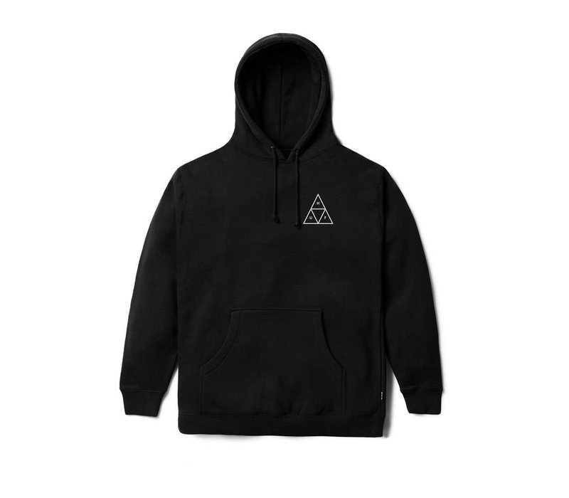 Huf Triple Triangle PullOver Hood Black