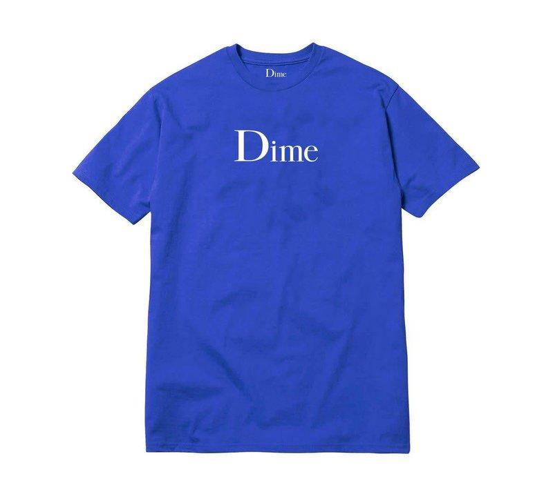 Dime Classic Logo Tee Royal Blue