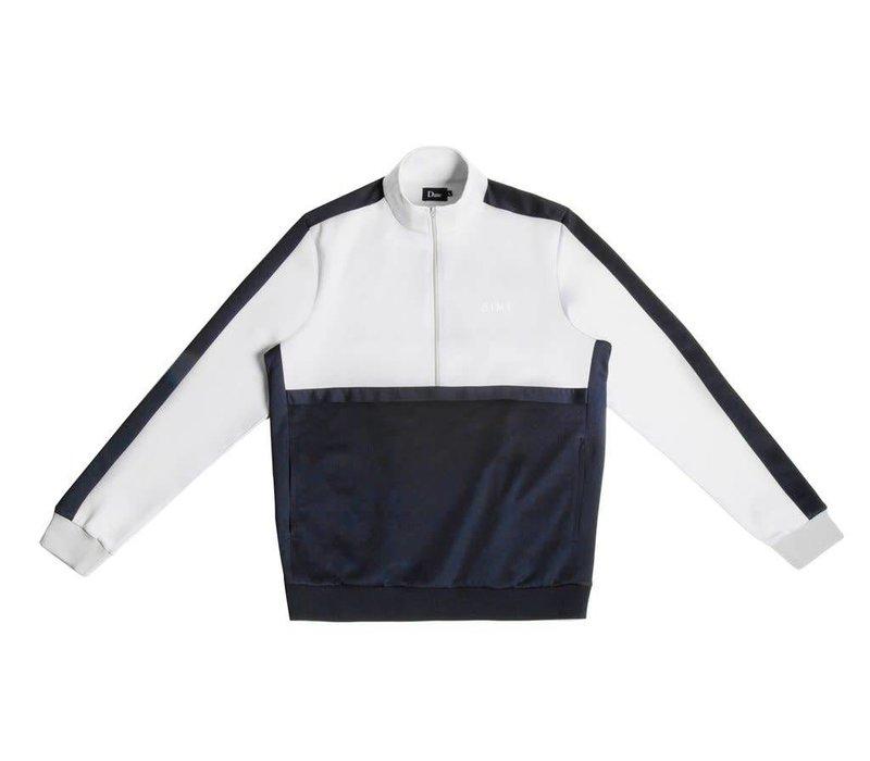 Dime Track Jacket Gray/Navy