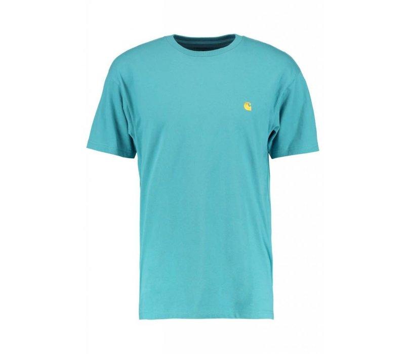 Carhartt Chase T-Shirt Teal
