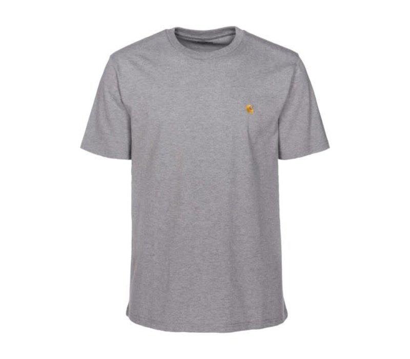 Carhartt Chase T-Shirt Grey Heather