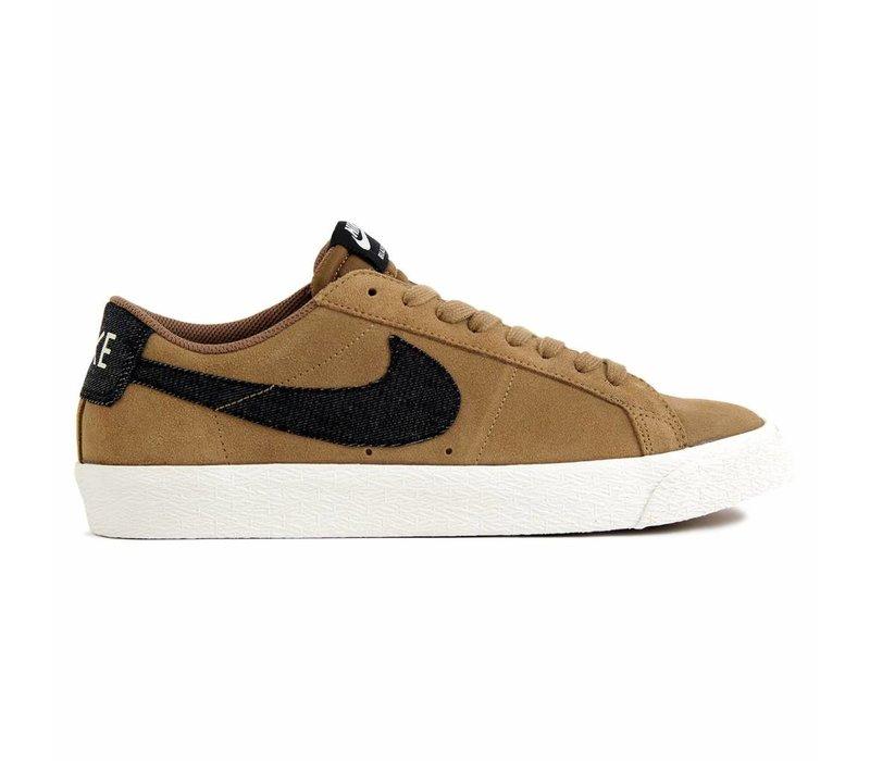 Nike SB Blazer Zoom Low Golden Beige/White/Black