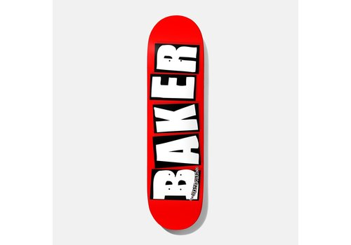 Baker Baker - Brand Logo White 8.125