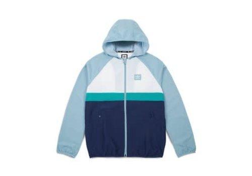 Adidas Adidas BB Wind Jacket White/Green/Blue