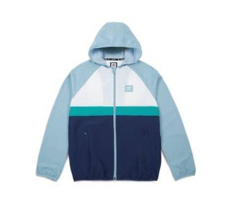 Adidas BB Wind Jacket White/Green/Blue