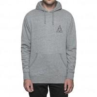Huf Triple Triangle PullOver Hood Grey