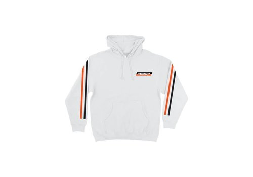Bronson Speed Co. Bronson PO Hood Racing Stripes White