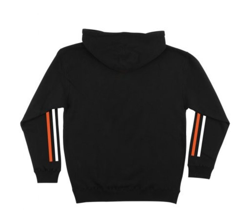 Bronson PO Hood Racing Stripes Black