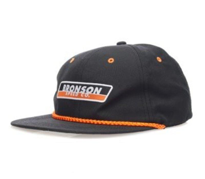 Bronson Speed Co. Snapback Hat Black