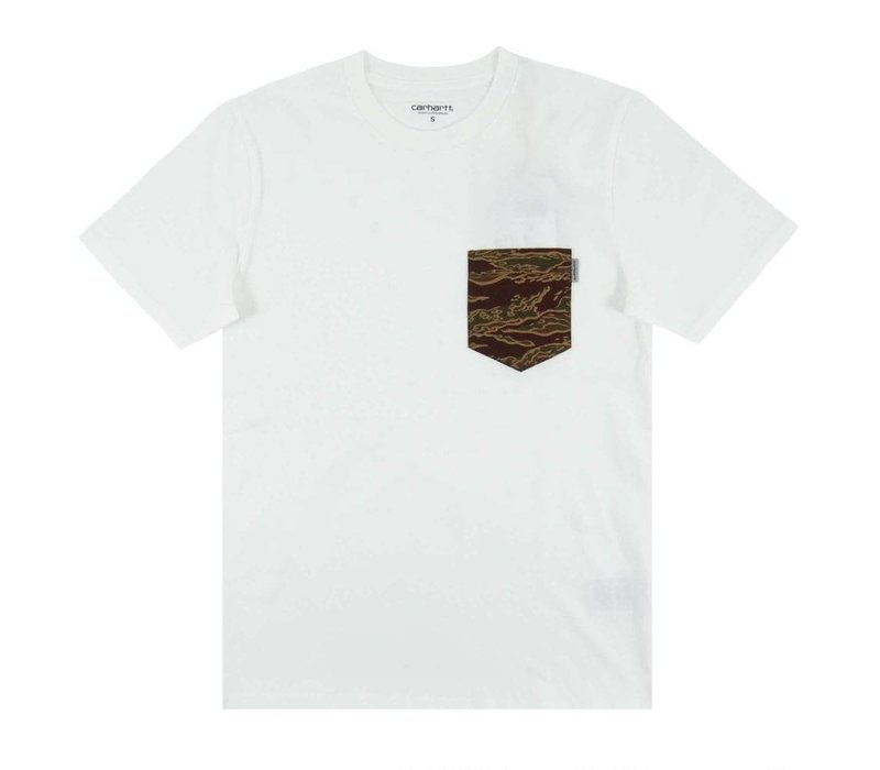 Carhartt Lester Pocket T-shirt White