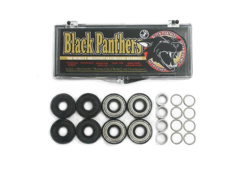 Black Panthers Black Panthers  Abec 3 Bearings