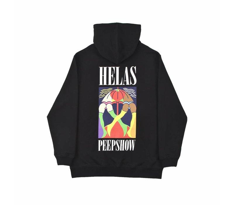 Helas Peeps Hoodie Black
